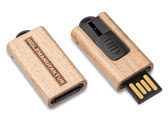 USB Sticks Holz
